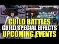 GUILD BATTLES and SPECIAL EFFECTS CONFIRMED Also UPCOMING EVENTS Bleach Brave Souls
