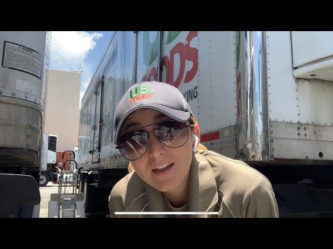 Female Truck Driver | US Foods (36 foot trailer)