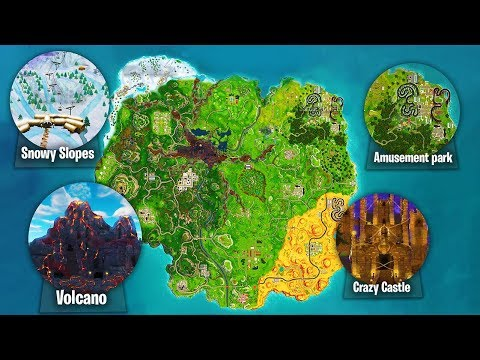 New map in fortnite