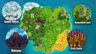 THE *NEW* SEASON 6 MAP in Fortnite! - Fortnite Battle Royale Season 6 MAP LEAKED!