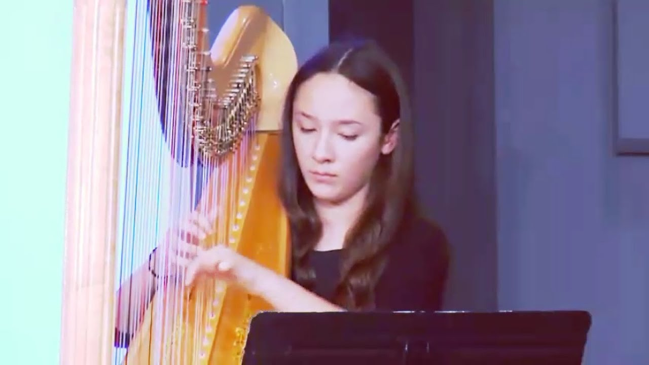 """God Who Made the Earth and Heaven"" - Hymn 47 - Instrumental Harp"