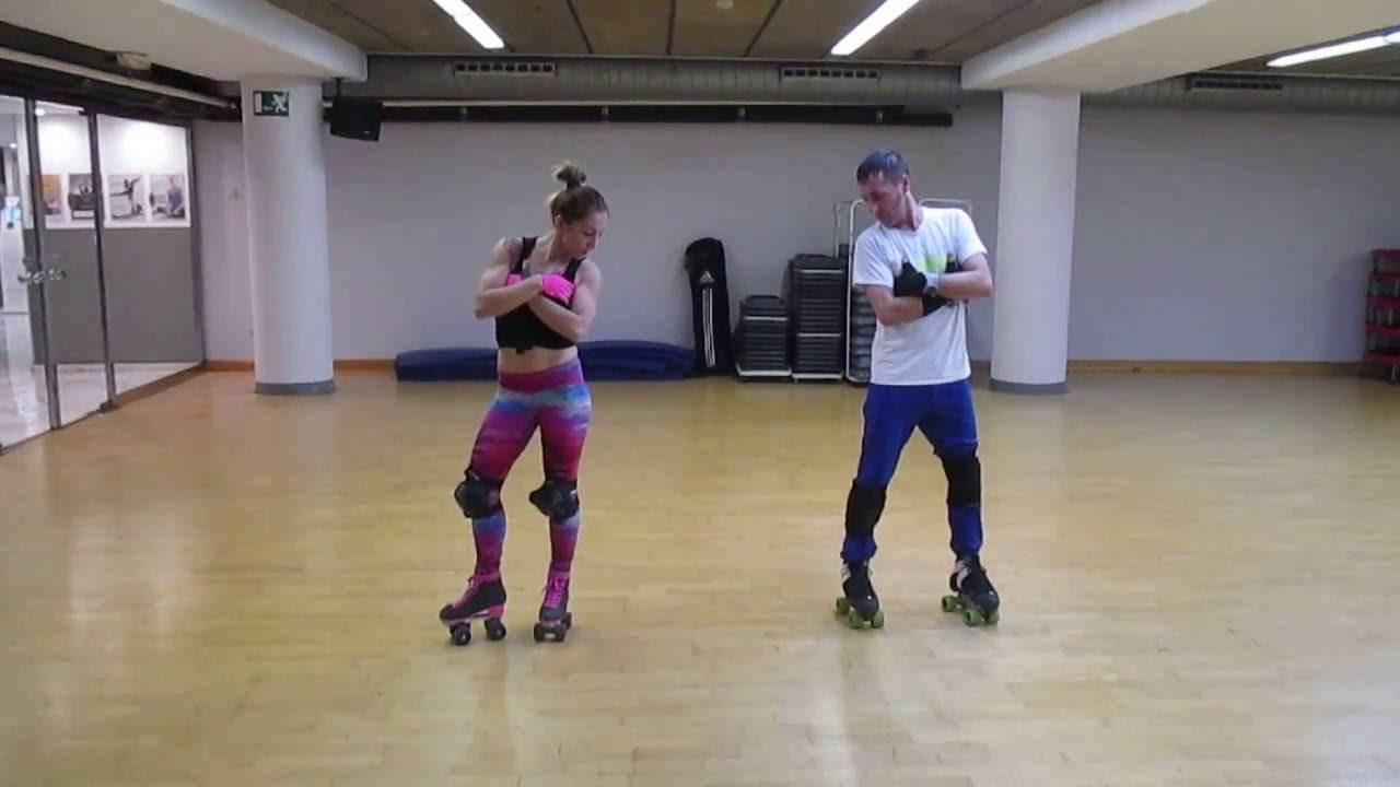 Roller skates dance - Rollerskates Dance Session Urban Style