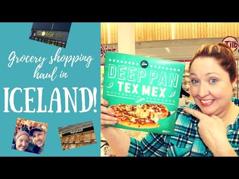 GROCERY SHOPPING HAUL IN ICELAND!!