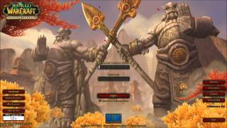 Mists Of Pandaria Login Screen Music