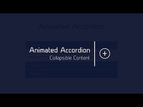 Accordion Using JavaScript And CSS