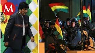 La renuncia de Evo Morales en las redes sociales