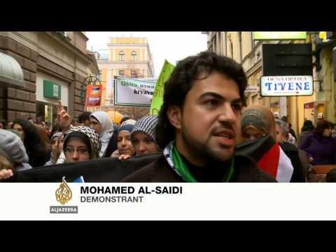 Sarajevo: Protest podrške palestinskom narodu - Al Jazeera Balkans