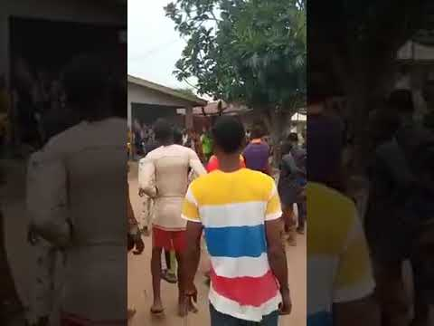 Commotion As 'Juju' Fails Masquerade, Bullets Penetrate His Body During Festival in Oyo