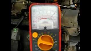 Настройка ДПДЗ на Nissan AD QG13DE