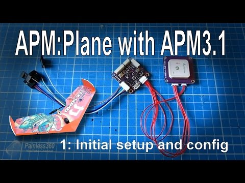 (1/3) APM Mini 3.1 setup for APM:Plane (Arduplane)