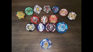 LIMITED EDITION TT Shining Amaterios vs All Hasbro Turbo Beys! Beyblade Burst Turbo!