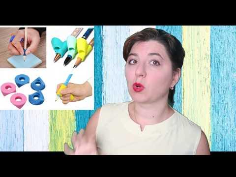 Как правильно научить держать ручку