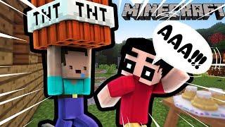 Khi Noob Troll Shin Bằng TNT Trong Minecraft !!!