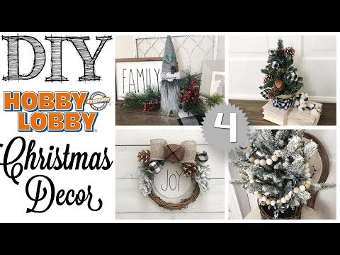 DIY Christmas Decor | 4 PROJECTS!