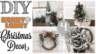 DIY Christmas Decor | 4 PROJECTS!