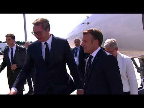 Poseta predsednika Francuske