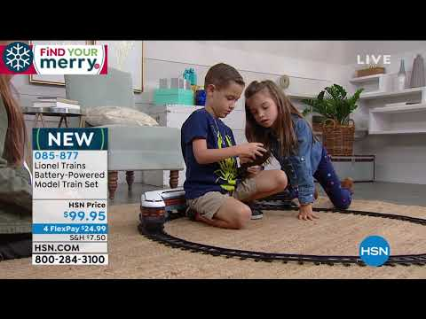 Lionel Trains Polar Express Battery Operated Model Train...