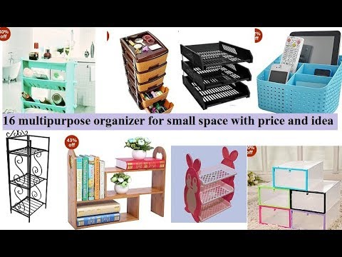 16 multipurpose organizer for small space with price | multipurpose storage rack kitchen organizer