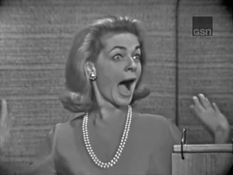 What's My Line? - Lauren Bacall; Durward Kirby & Phyllis Newman [panel] (Dec 19, 1965)