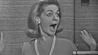 What's My Line? - Lauren Bacall; Durward Kirby & Phyllis Newman [panel] (Dec 19, 1965)