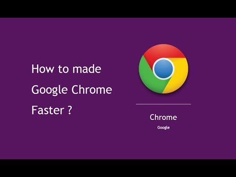 Speed up chrome browser by Flags 2019 updates