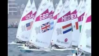 2012 Olympic Sailing(An Irish TV commentator bringing us very colorful comments on this