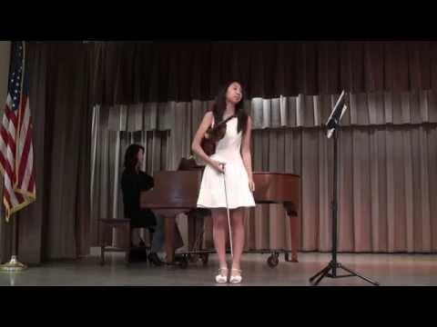 Alexandra Lee plays Praeludium and Allegro by Fritz Kreisler