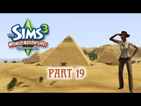 GOODBYE EGYPT, HELLO CHINA | The Sim 3 | World Adventures - Part 19