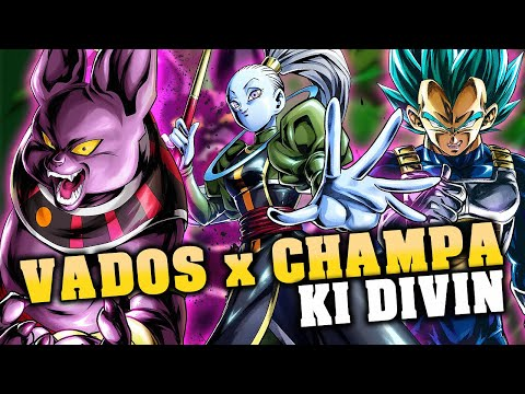 MA TEAM KI DIVIN ✨ POUR METTRE EN AVANT CHAMPA - DRAGON BALL LEGENDS -  YouTube