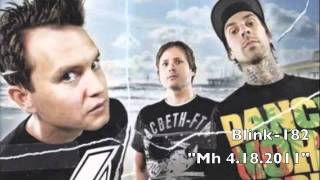 "Blink-182 ""Mh 4.18.2011"" NEW! (Neighborhoods)"