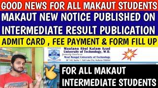 MAKAUT IMPORTANT NOTICE PUBLISHED | makaut | makaut even semester | makaut university | wbut exam