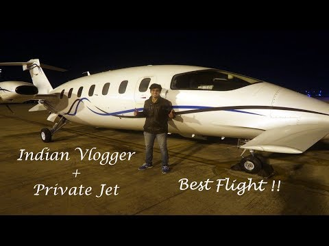 Travelling in PRIVATE JET for FREE !!! | 1st INDIAN VLOGGER