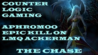 CLG Aphromoo epic kill on LMQ Ackerman - The Chase - LMQ vs CLG - NA LCS Summer Split 2014