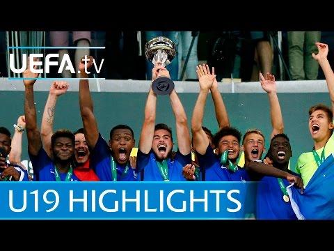 2016 Under-19 final highlights: France 4-0 Italy