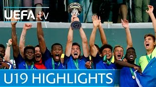 2016 Under-19 final highlights: France 4-0 Italy