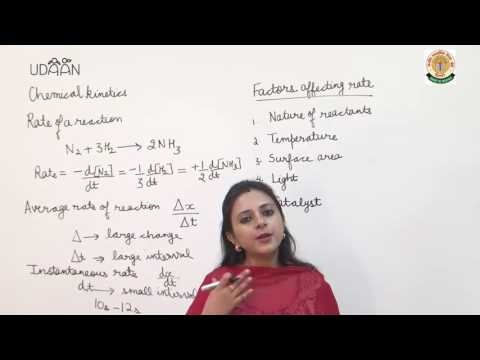 Lecture: Chemical Kinetics - 1