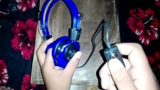 Unboxing of koniycoi KT 5000MV extra bass stereo headphone