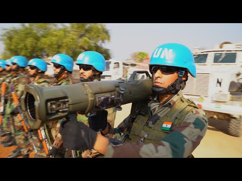 Give Peace A Chance: India's Blue Helmets In Bor