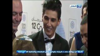 احلى النجوم - محمد عساف من مهرجان ابو ظبي السينمائي - Abudhabi Festival 2016