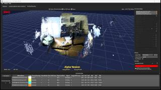 Multi Kinect PointCloud Recording
