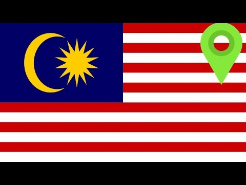 Malaysia Borders Explained - 3 Countries on 1 Island!?