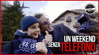 Un weekend senza telefono