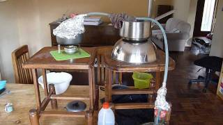 DIY: Emergency Desalination still (salt water purification)