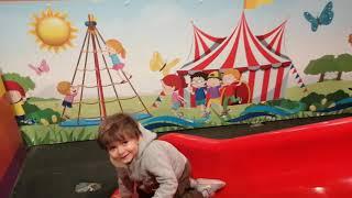 Tuna Miraç   Kaydıraktan Ters Kaymayı Öğrenmiş   Eğlenceli Çocuk Videoları   Funny Kids