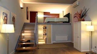 Modern Style Bedroom Space Saving Interior Design Ideas
