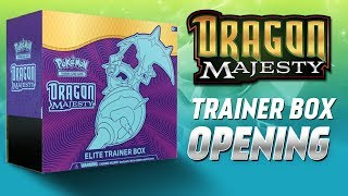 Dragon Majesty Elite Trainer Box Opening (CRAZY PULLS!)