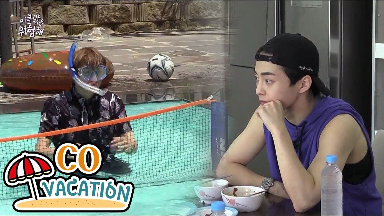Download [Co-Vacation: Xiumin & Daniel] Daniel Plunges Into Swimming, 20170910