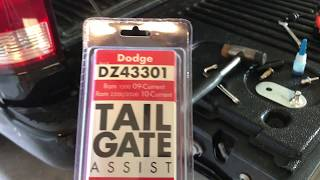 DZ43301 Tailgate Assist Step By Step Instructions Dodge Ram 1500, 2500 & 3500