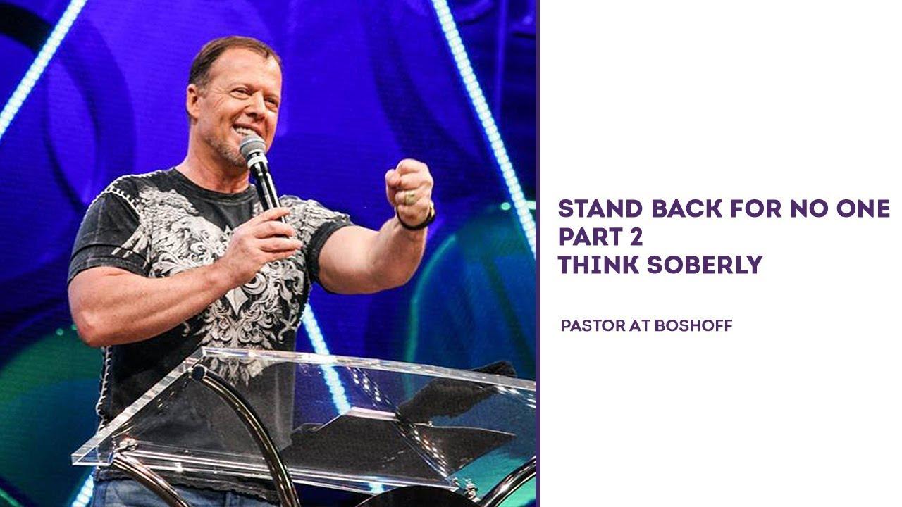 Pastor at boshoff dating