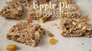 Apple Pie Breakfast Bars (gluten Free)